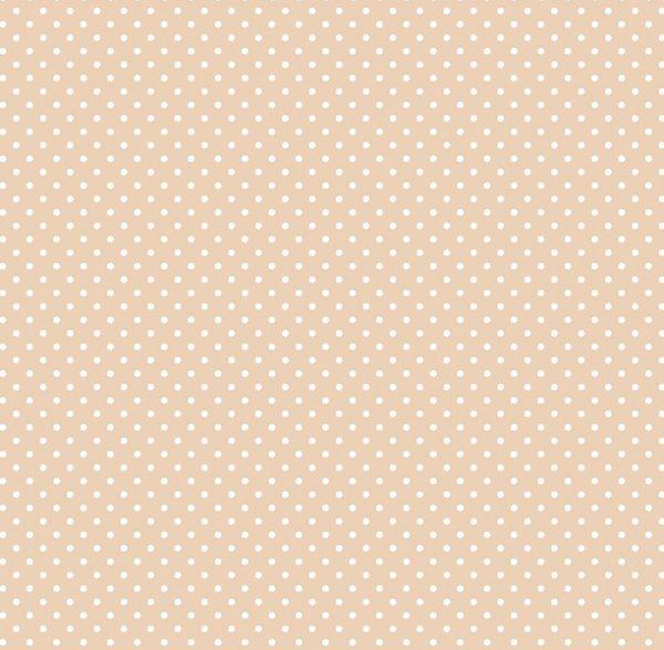 Metrajes, telas por metros, Candy circle beige