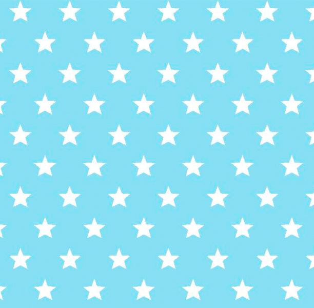Metrajes, telas por metros, Candy star azul