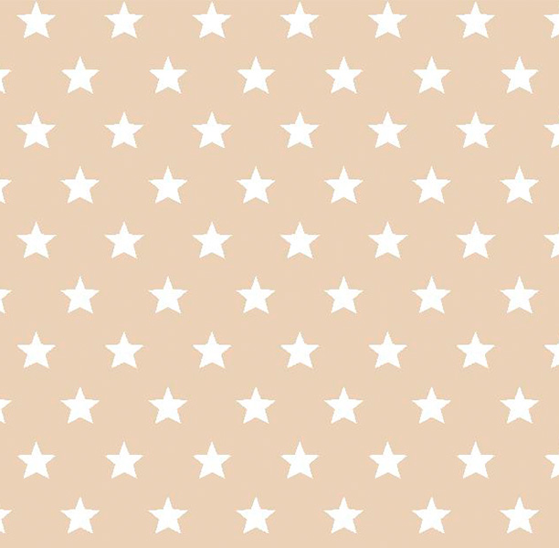 Metrajes, telas por metros, Candy star beige