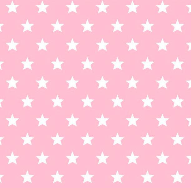 Metrajes, telas por metros, Candy star rosa