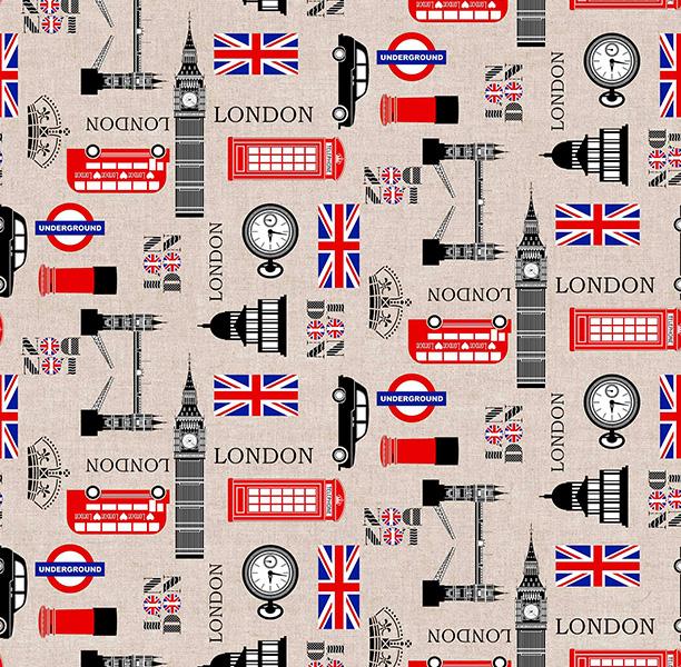 Metrajes, telas por metros, England