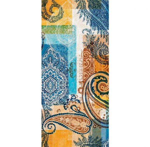Metrajes, telas por metros, Eugenia azul 2