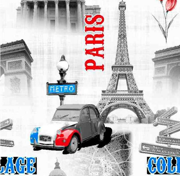 Metrajes, telas por metros, París