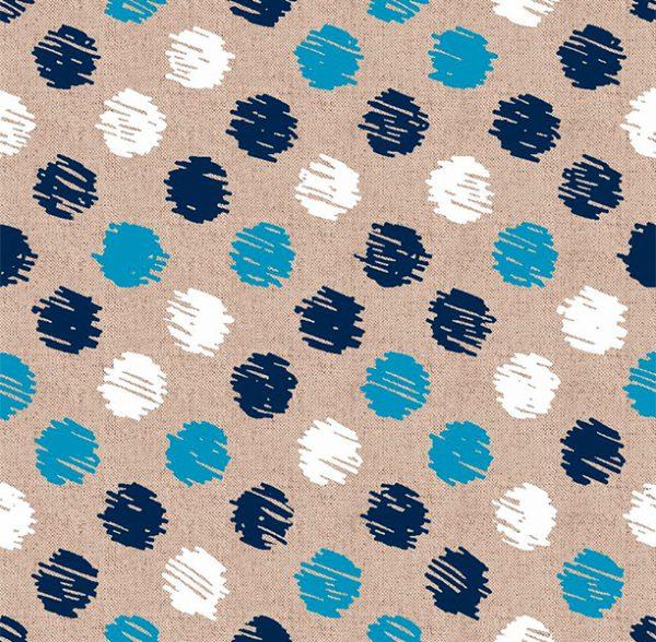 Metrajes, telas por metros, Tango azul