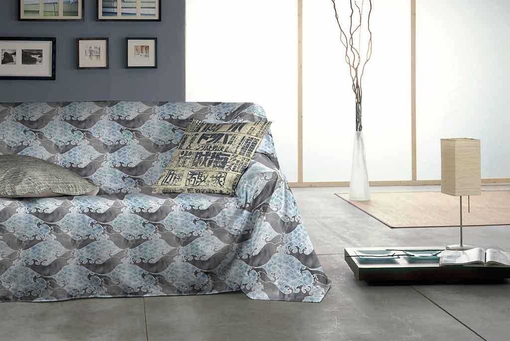 Foulard multiusos modelo japan protege tu sof o cama for Foulard para sofa