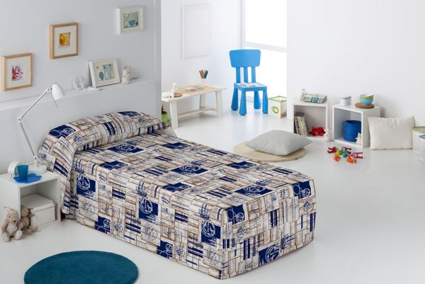 Conforte Modelo Marine, azul