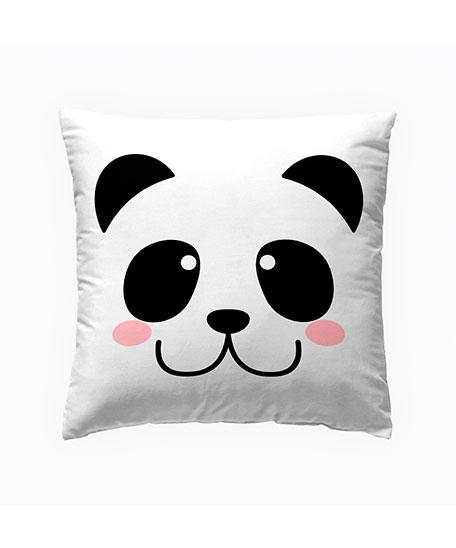 funda cojin digital panda cara a