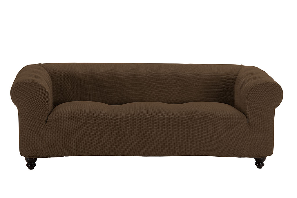 funda de sofa chester marron