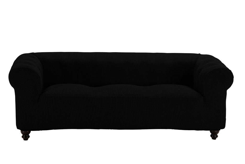 funda de sofa chester negro