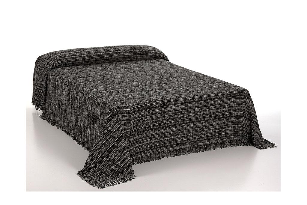 foulard jaspe cama gris