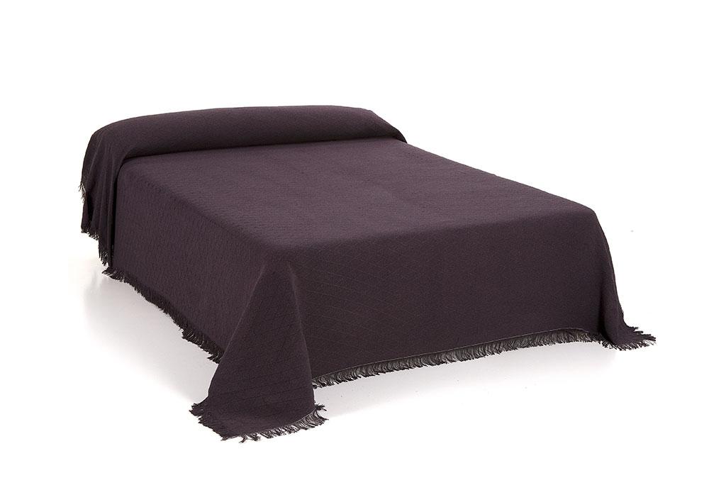 foulard rombo cama marrón