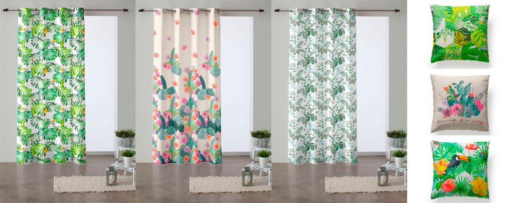 Decora tu casa con unas bonitas cortinas