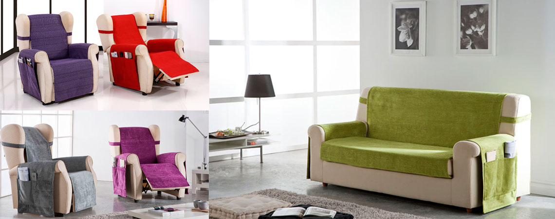 Fundas de sofá prácticas