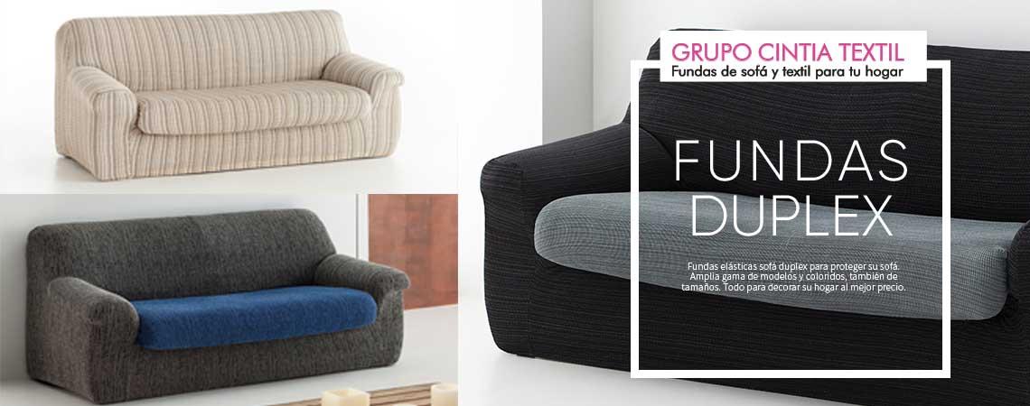 Fundas de sofá duplex