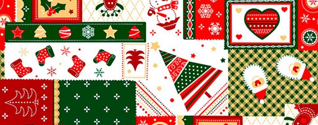 Telas para Navidad